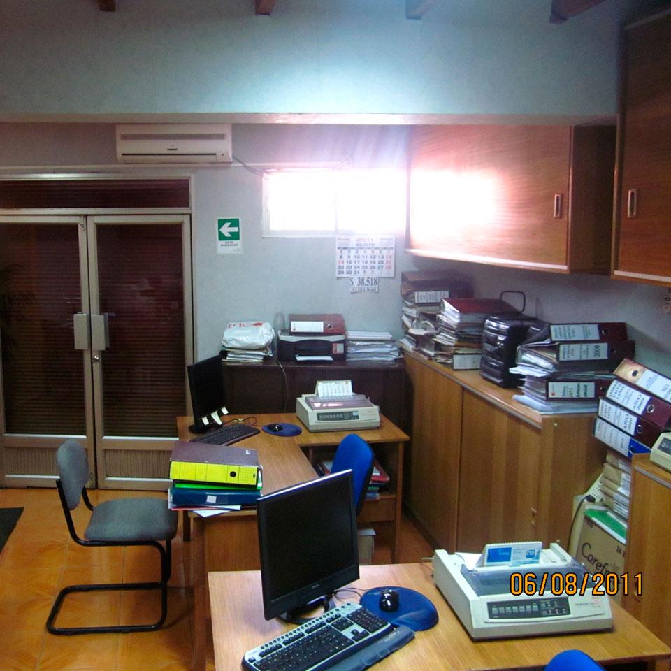 Oficina matus antes de la remodelación