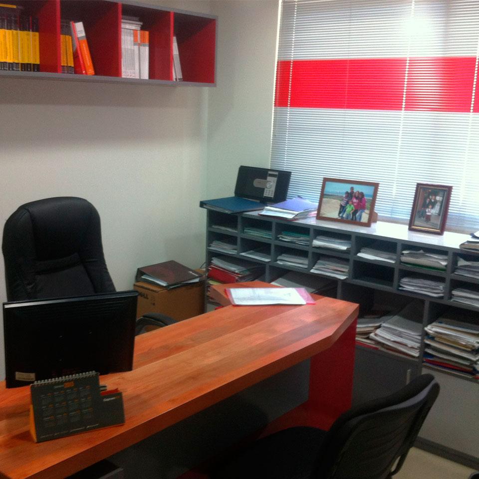 Oficina Matus después de la remodelación