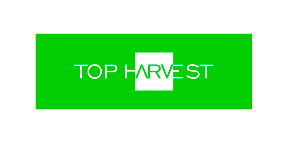 Primer logo de Top Harvest