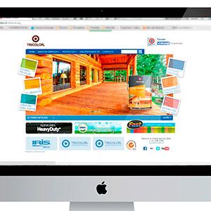 Sitio Web Tricolor